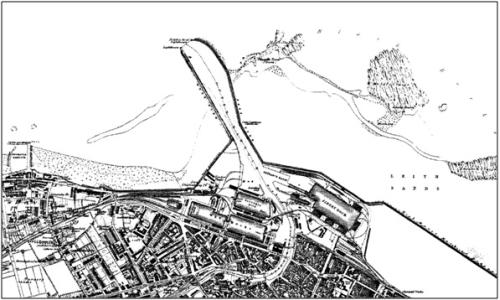 1856 Ordnance Survey 1st Edition map
