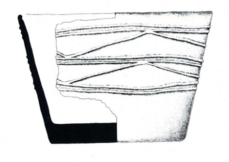 Figure 21: Grooved ware vessel SF 3720 from Barnhouse