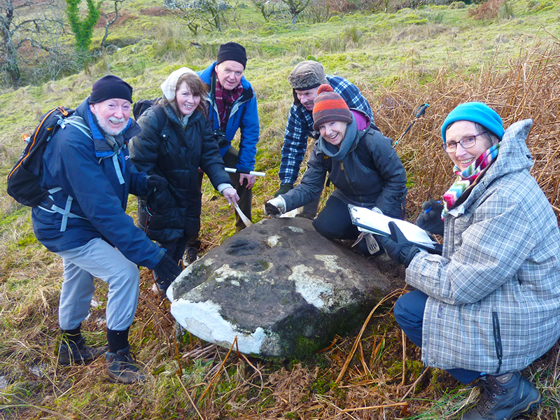 New Case Study – Scotland's Rock Art Project (ScRAP) in Argyll and Bute